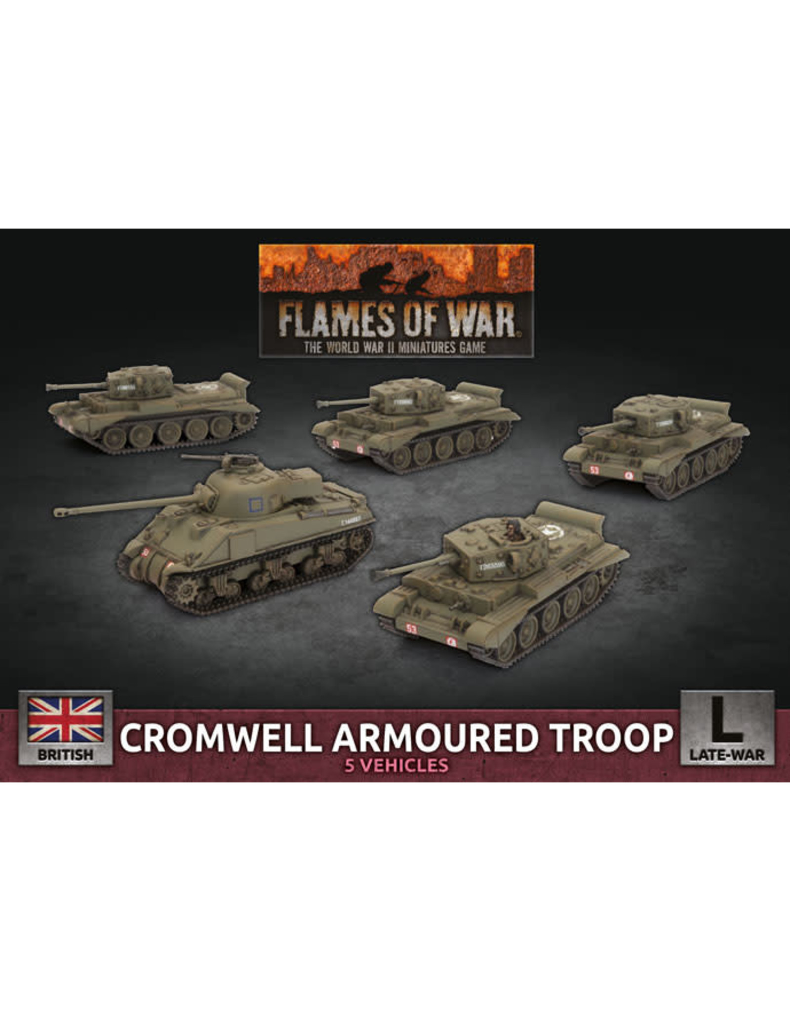 Battlefront Miniatures Flames of War: Cromwell Armoured Troop