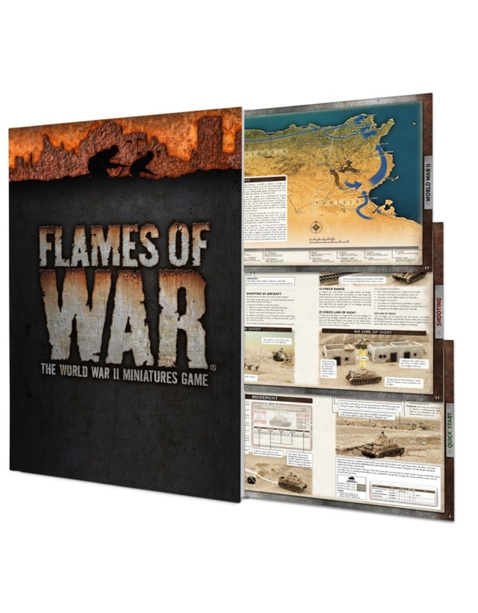 Battlefront Miniatures Flames Of War Rulebook: 4th Edition