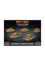 Battlefront Miniatures Panzer IV Tank Platoon