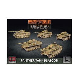 Battlefront Miniatures Panther A Tank Platoon