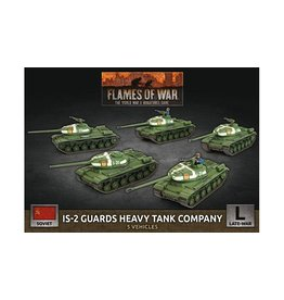 Battlefront Miniatures IS-2 Guards Heavy Tank Company