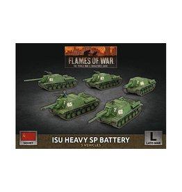 Battlefront Miniatures ISU Heavy SP Battery