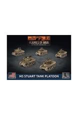 Battlefront Miniatures M5 Stuart Light Tank Platoon