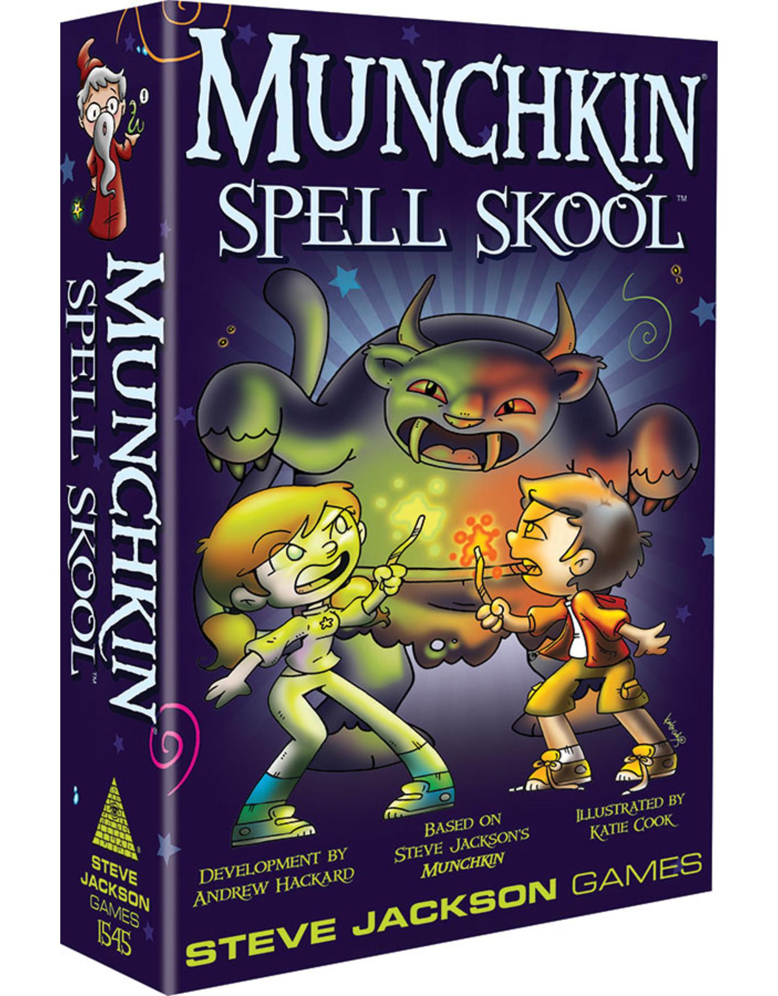 Steve Jackson Games Munchkin: Munchkin Spell Skool