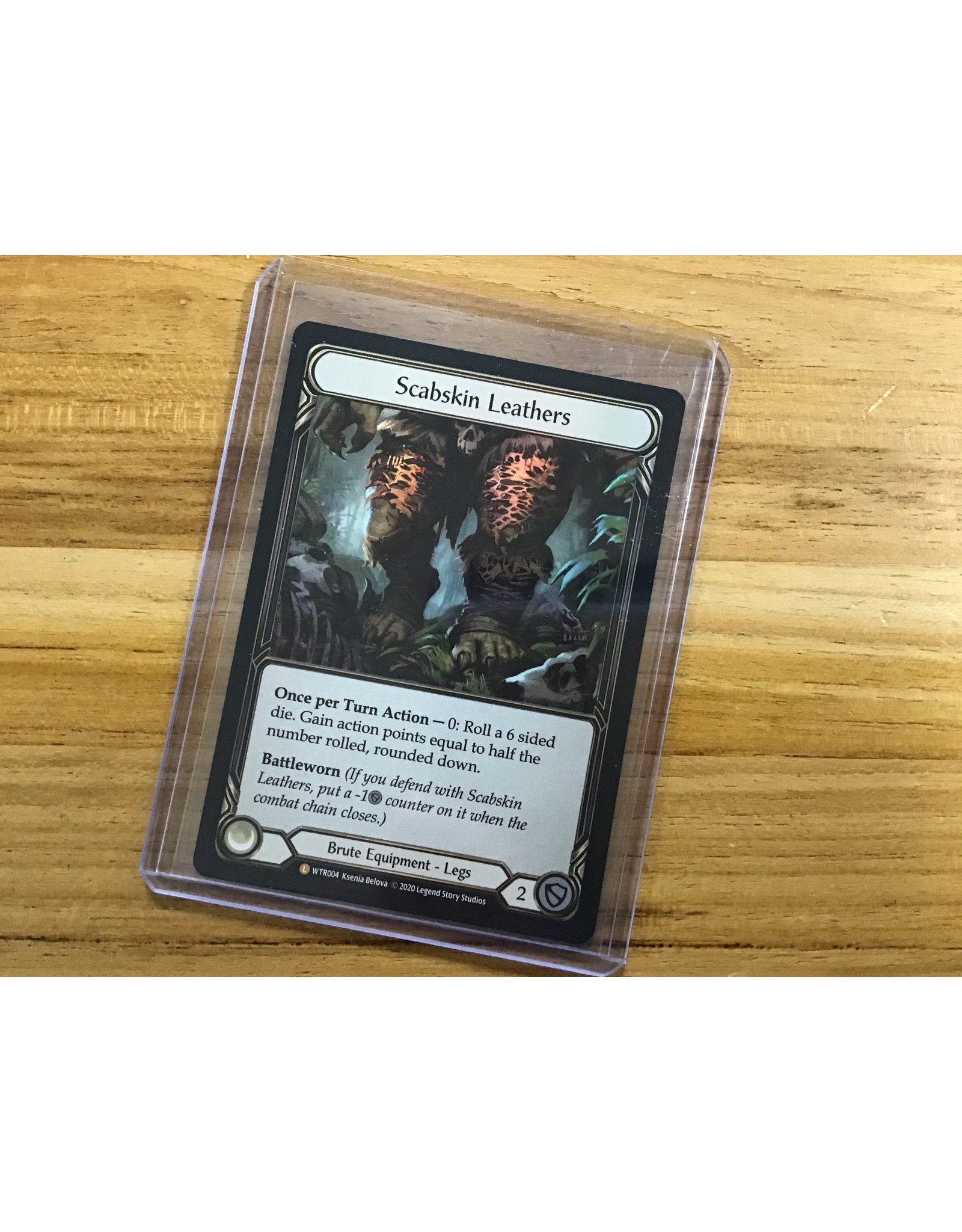 Legend Story Studios Flesh and Blood Single : Scabskin Leathers Welcome to Rathe Rainbow Foil
