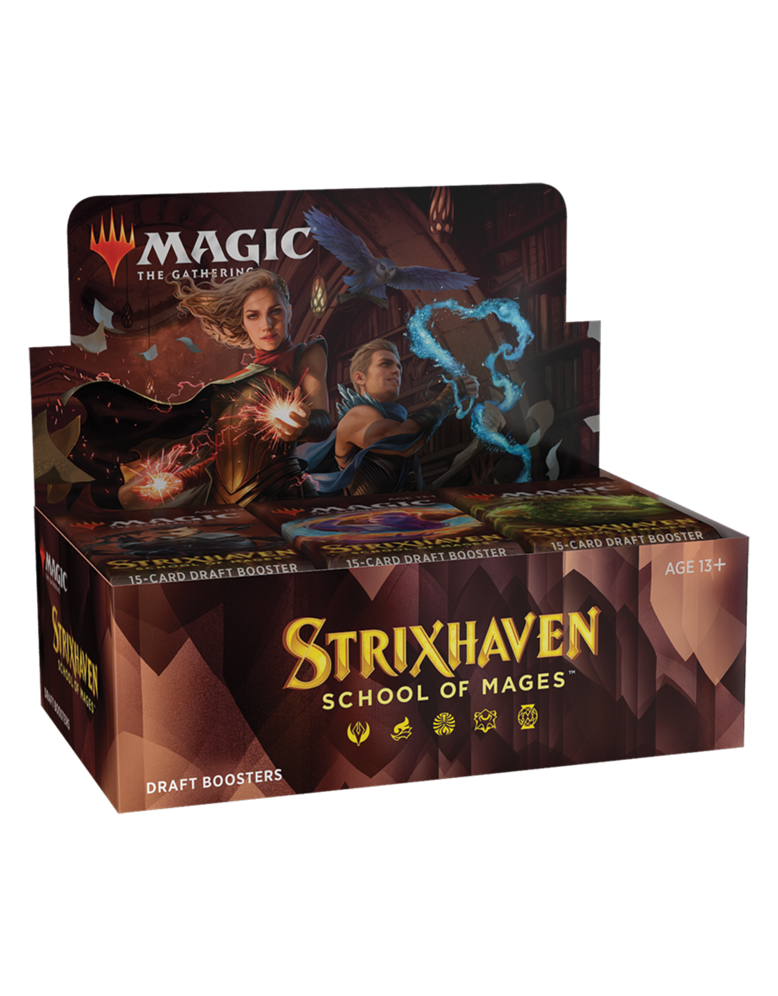 Wizards of the Coast MTG: Strixhaven Draft Booster Box