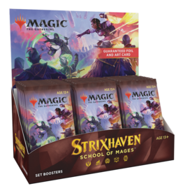 Wizards of the Coast MTG Strixhaven Set Booster Box