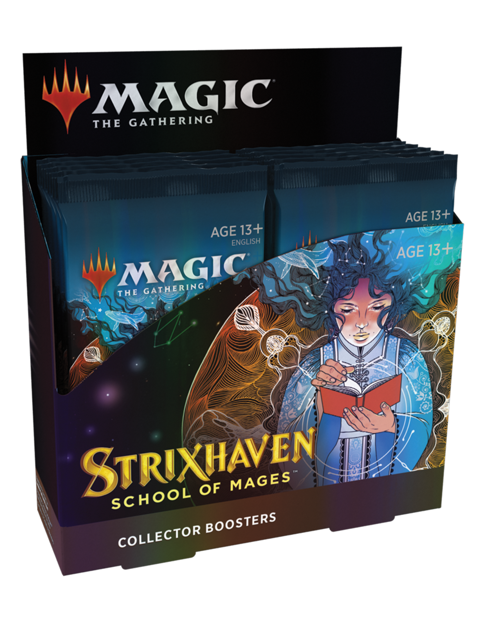 Wizards of the Coast MTG: Strixhaven Collector Booster Box