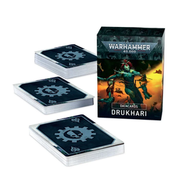 Games Workshop WH40K Datacards: Drukhari 9th Ed