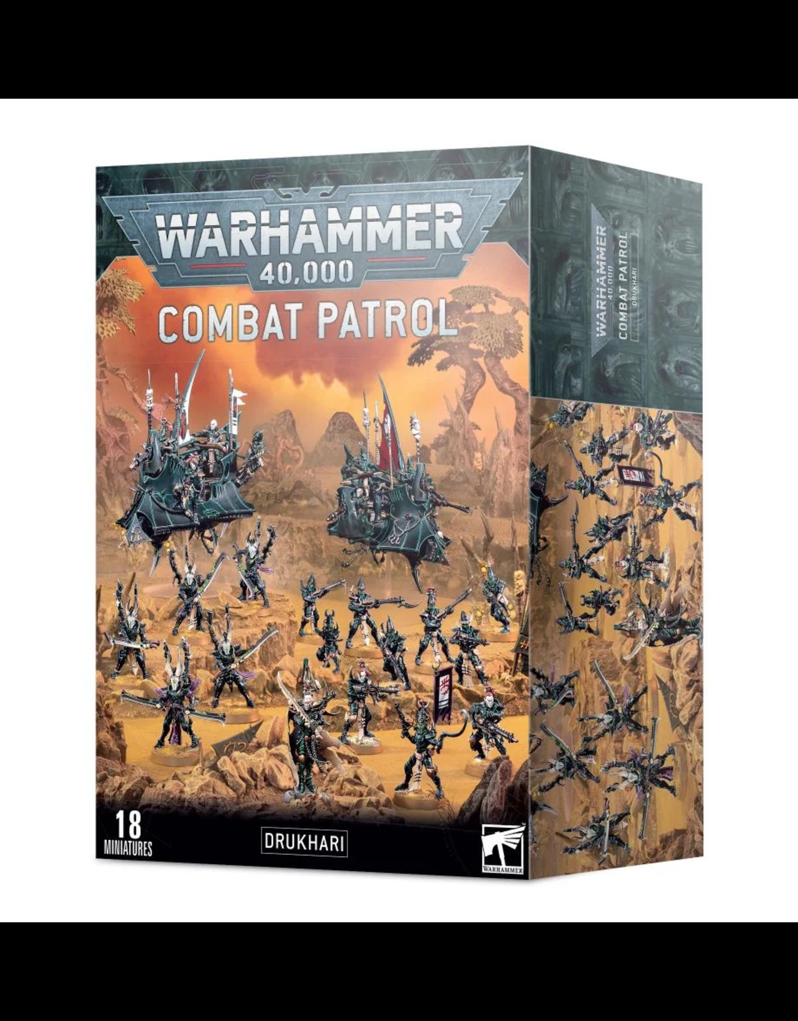 Warhammer 40K WH40K Drukhari Combat Patrol