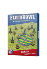 Games Workshop Blood Bowl Halfling Pitch: Double-sided Pitch and Dugouts