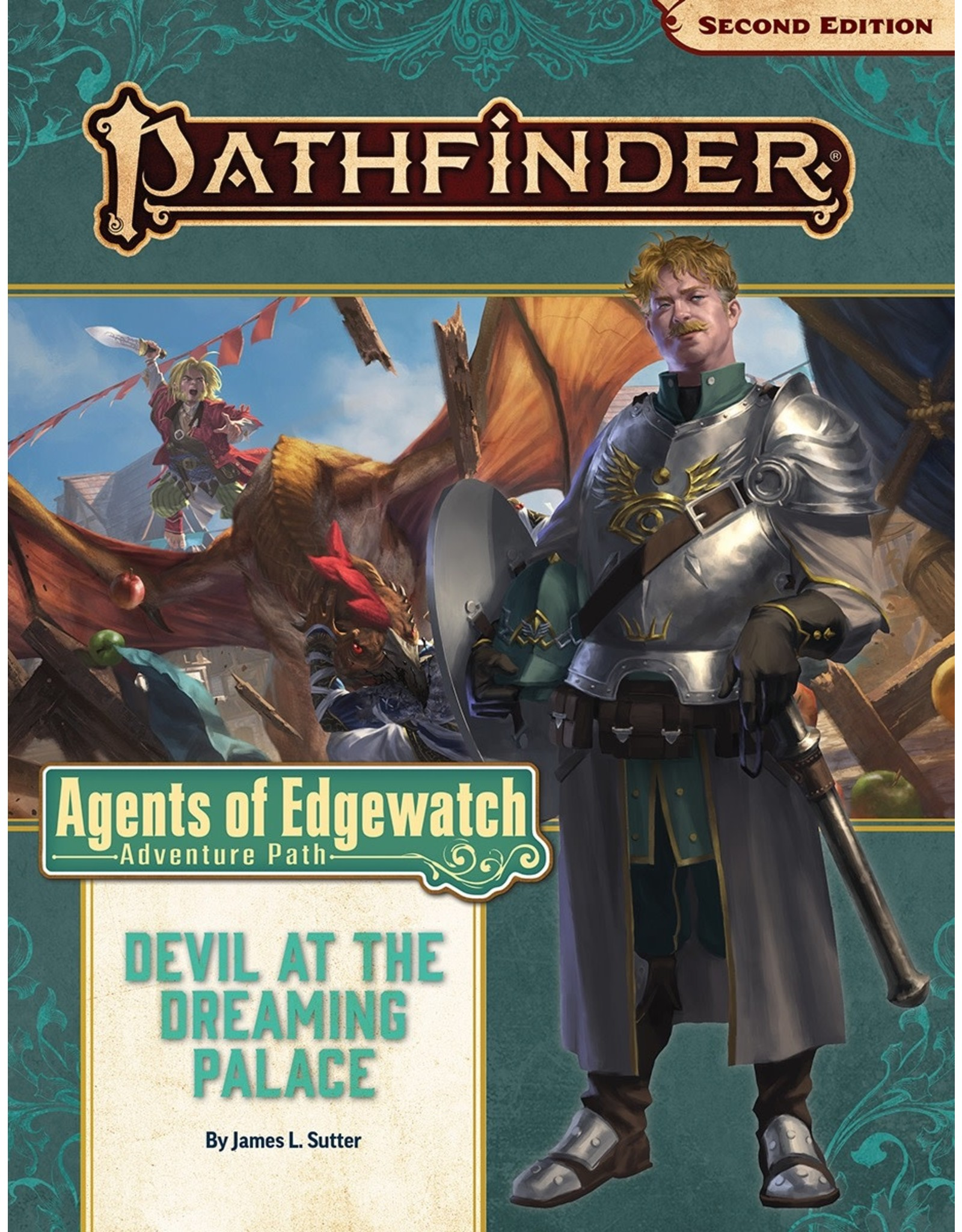 Paizo Pathfinder 2E: Agents of Edgewatch - Devil at the Dreaming Palace (part 1)
