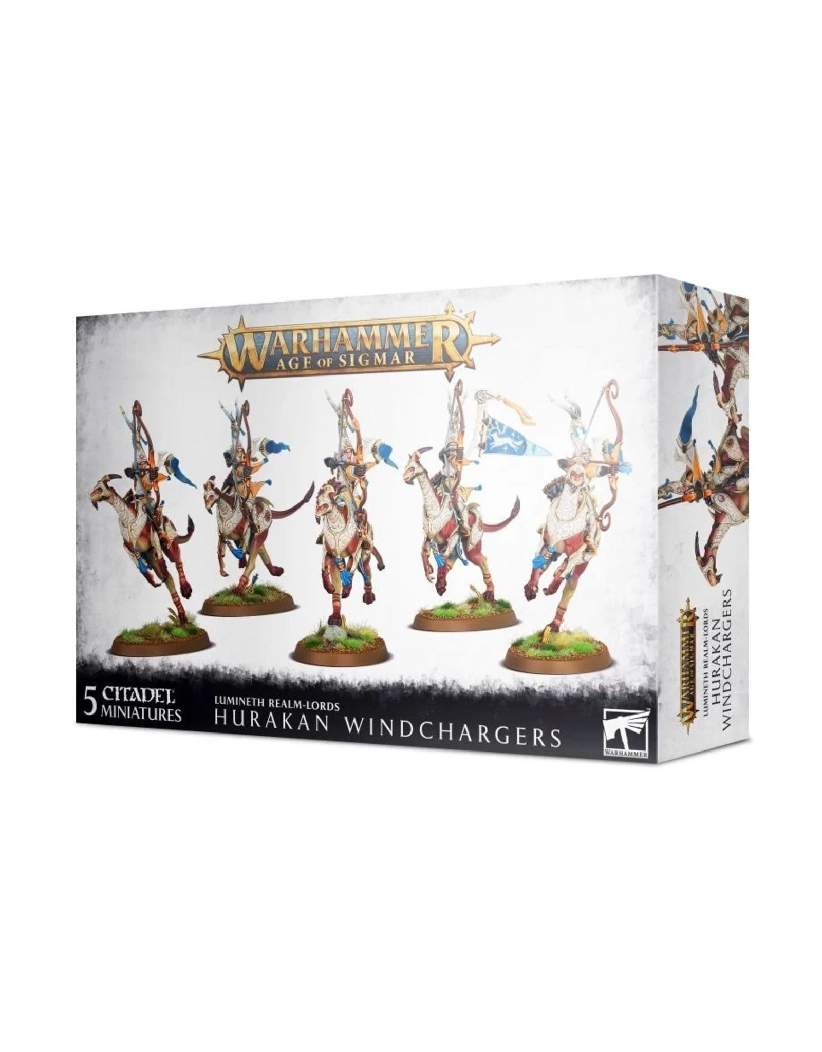 Warhammer AoS WHAoS Lumineth: Hurakan Windchargers