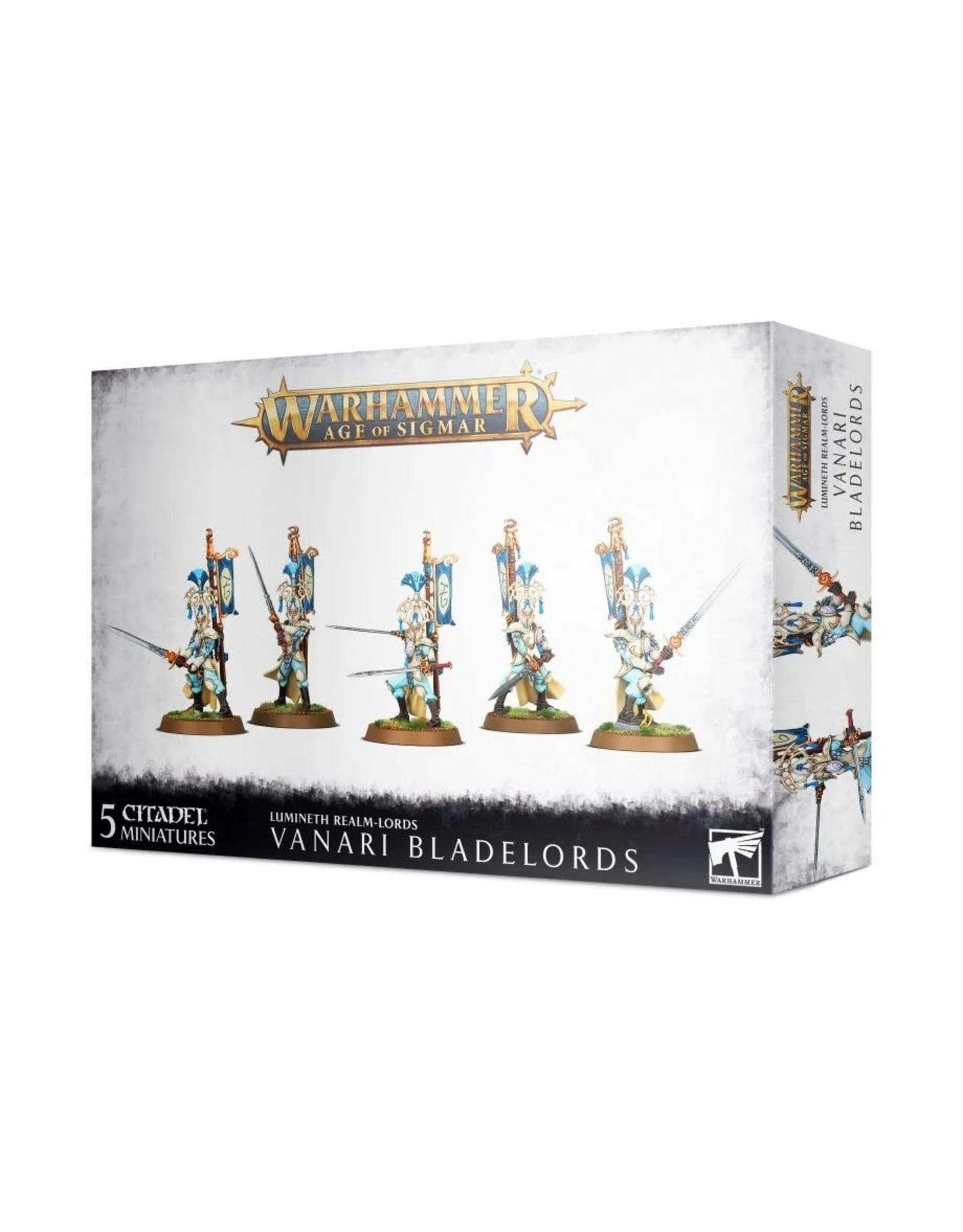 Warhammer AoS WHAoS Lumineth: Vanari Bladelords