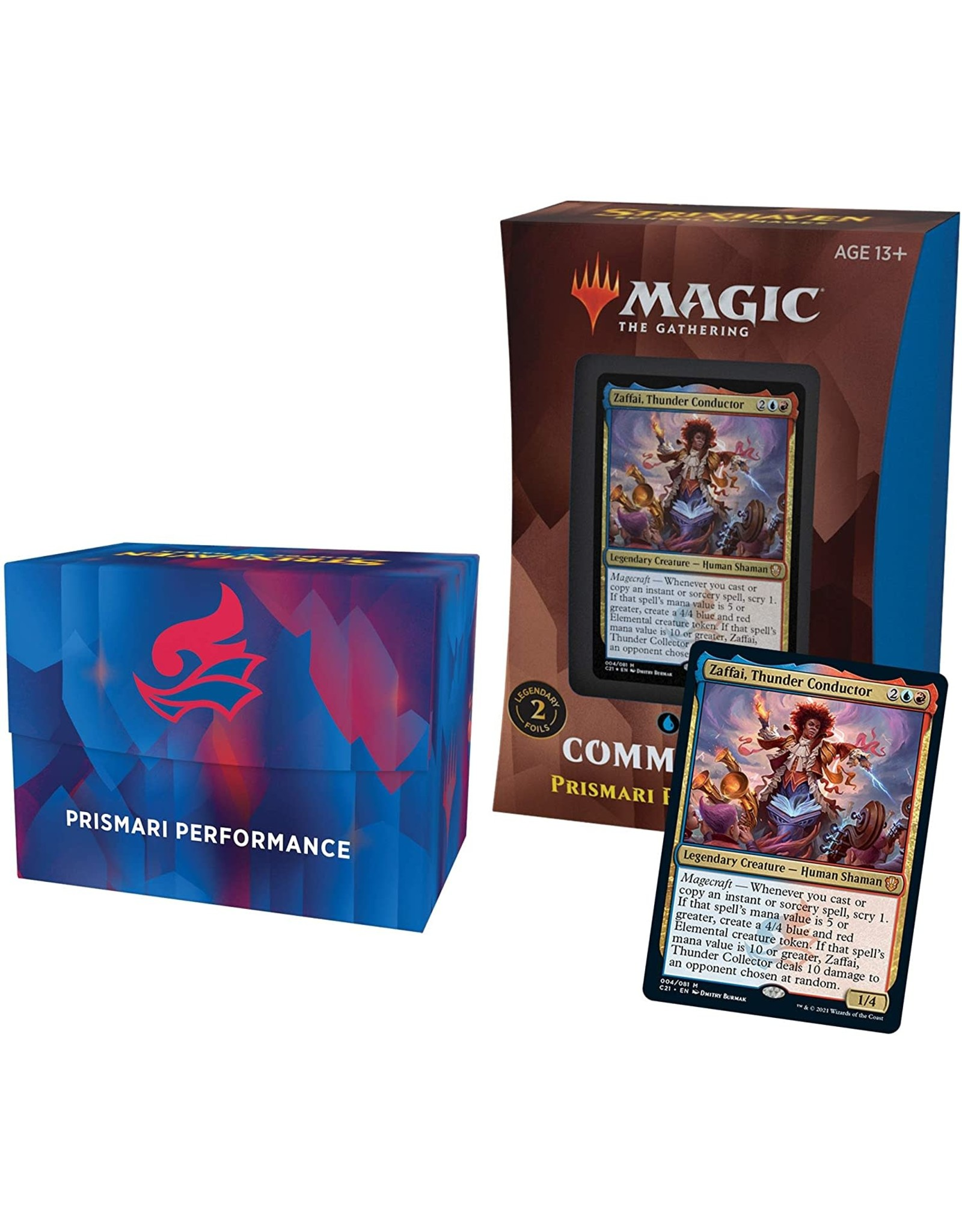 Wizards of the Coast MtG Commander 2021 Prismari Performance