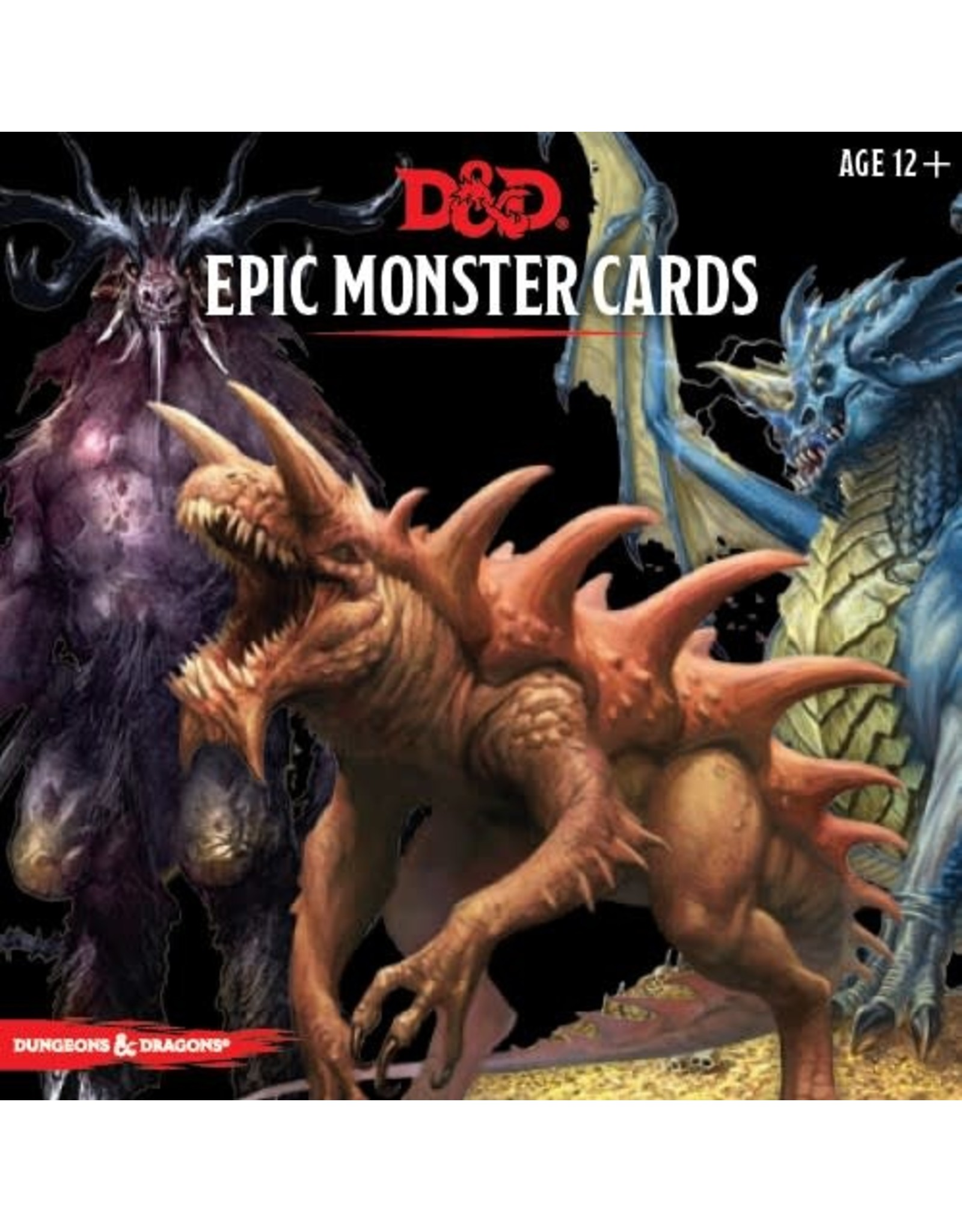 Wizards of the Coast D&D Epic Monster Cards
