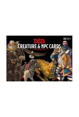 Wizards of the Coast D&D Creature & NPC Cards