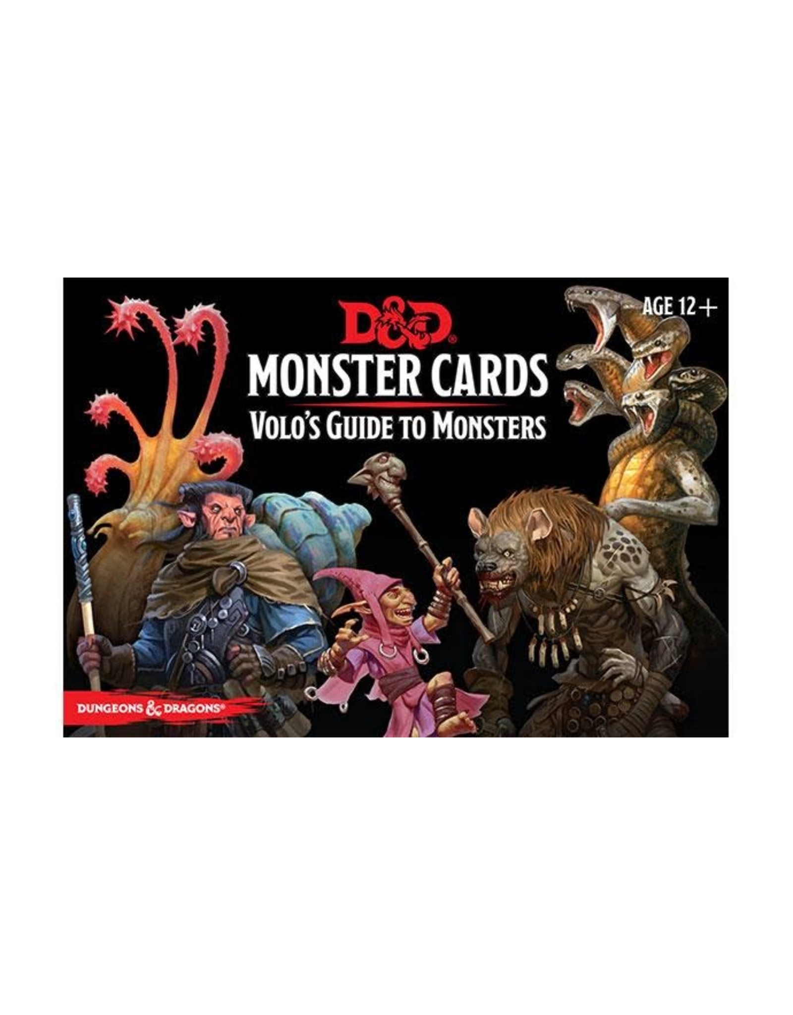 Wizards of the Coast D&D Monster Cards: Volo's Guide to Monsters