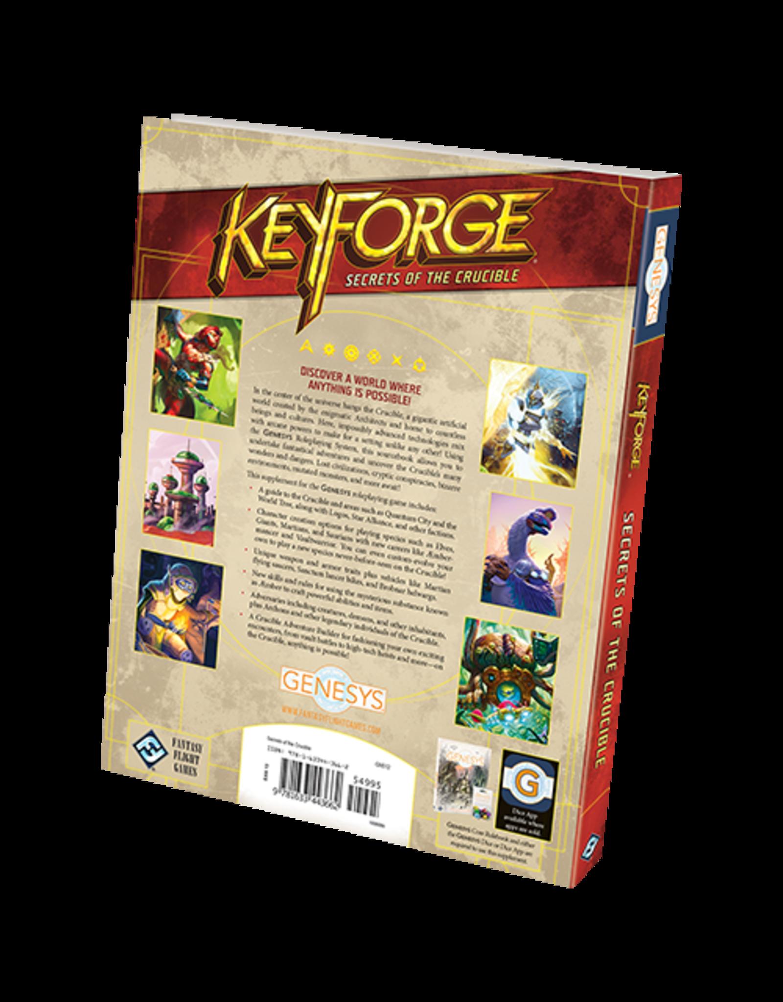 Fantasy Flight Games Keyforge Secrets of the Crucible