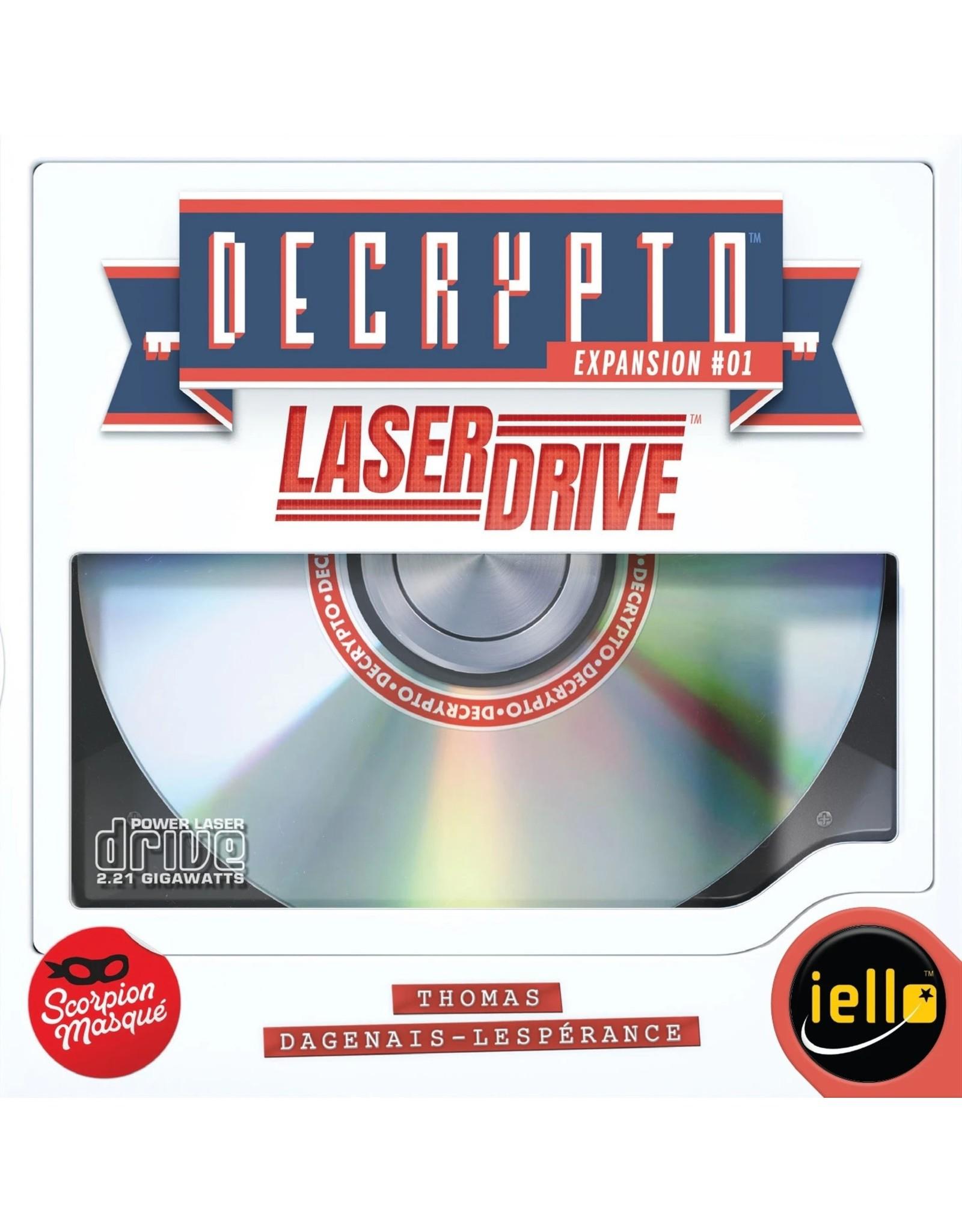 Scorpion Masque Decrypto Laser Drive