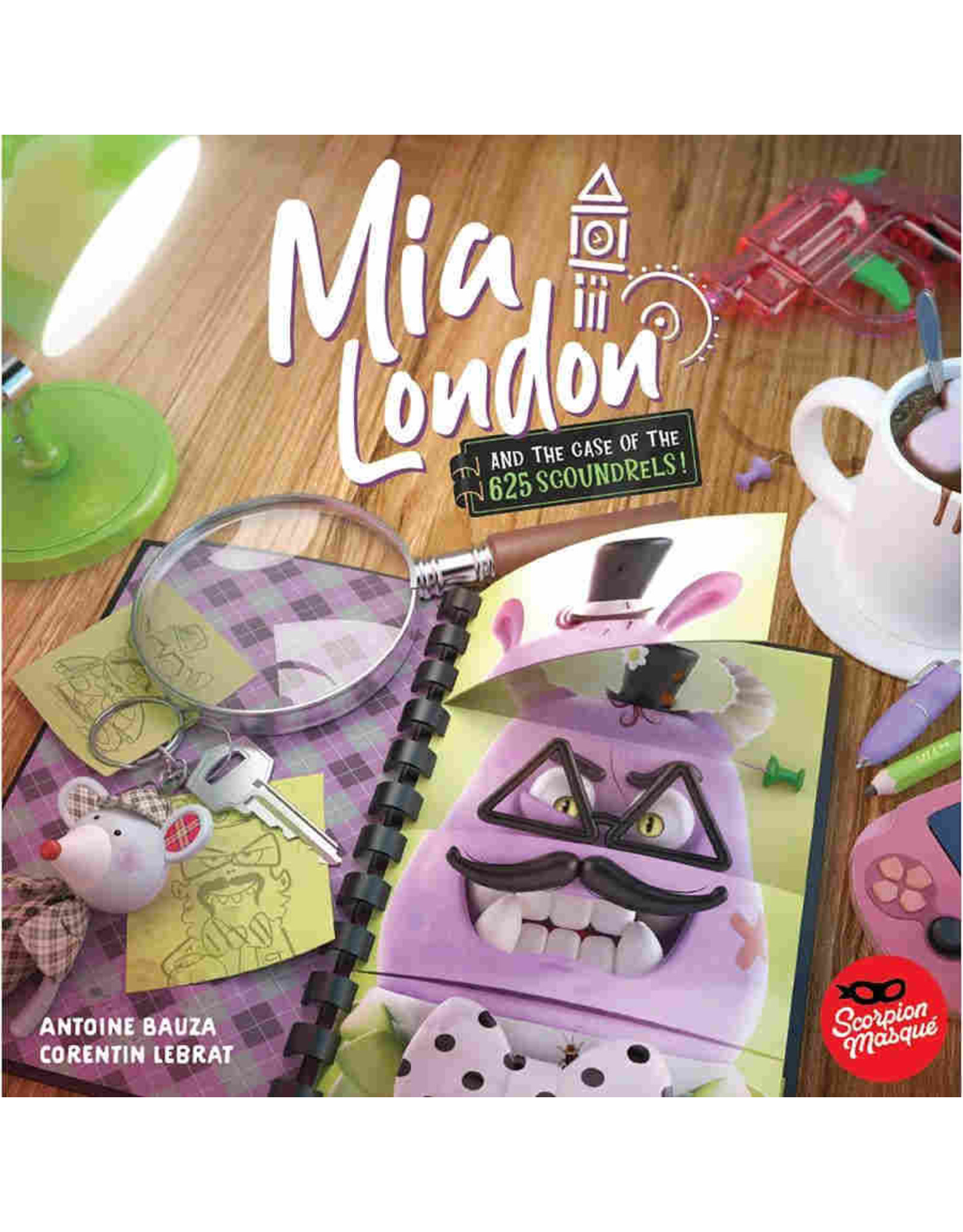 Scorpion Masque Mia London and the Case of the 625 Scoundrels