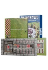Games Workshop Blood Bowl Sevens Pitch: Double-sided Pitch and Dugouts