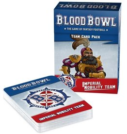 Warhammer Blood Bowl Team - Imperial Nobility Team Cards