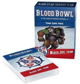 Warhammer Blood Bowl Team - Black Orc Team Cards