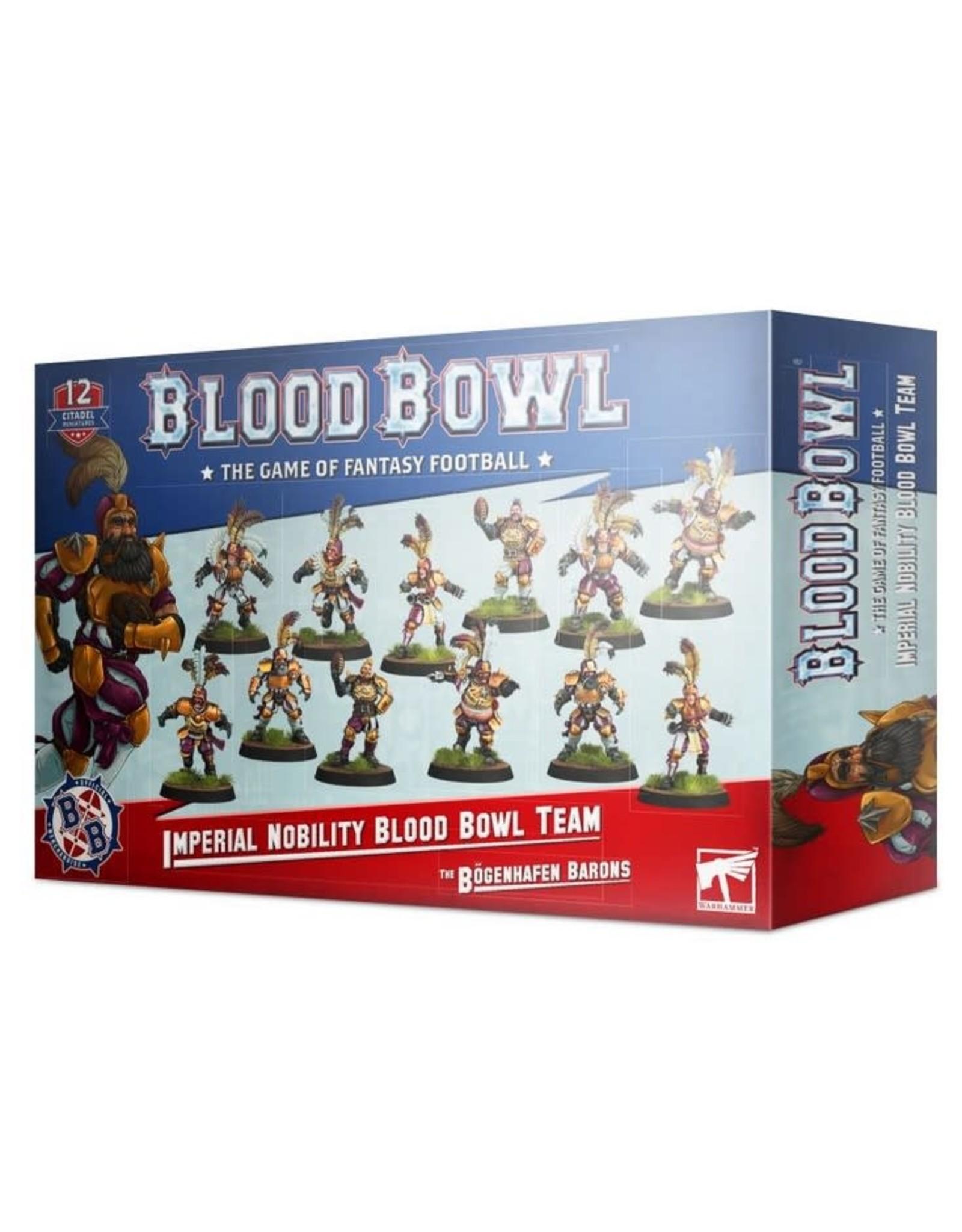 Warhammer Blood Bowl Team - The Bogenhafen Barons