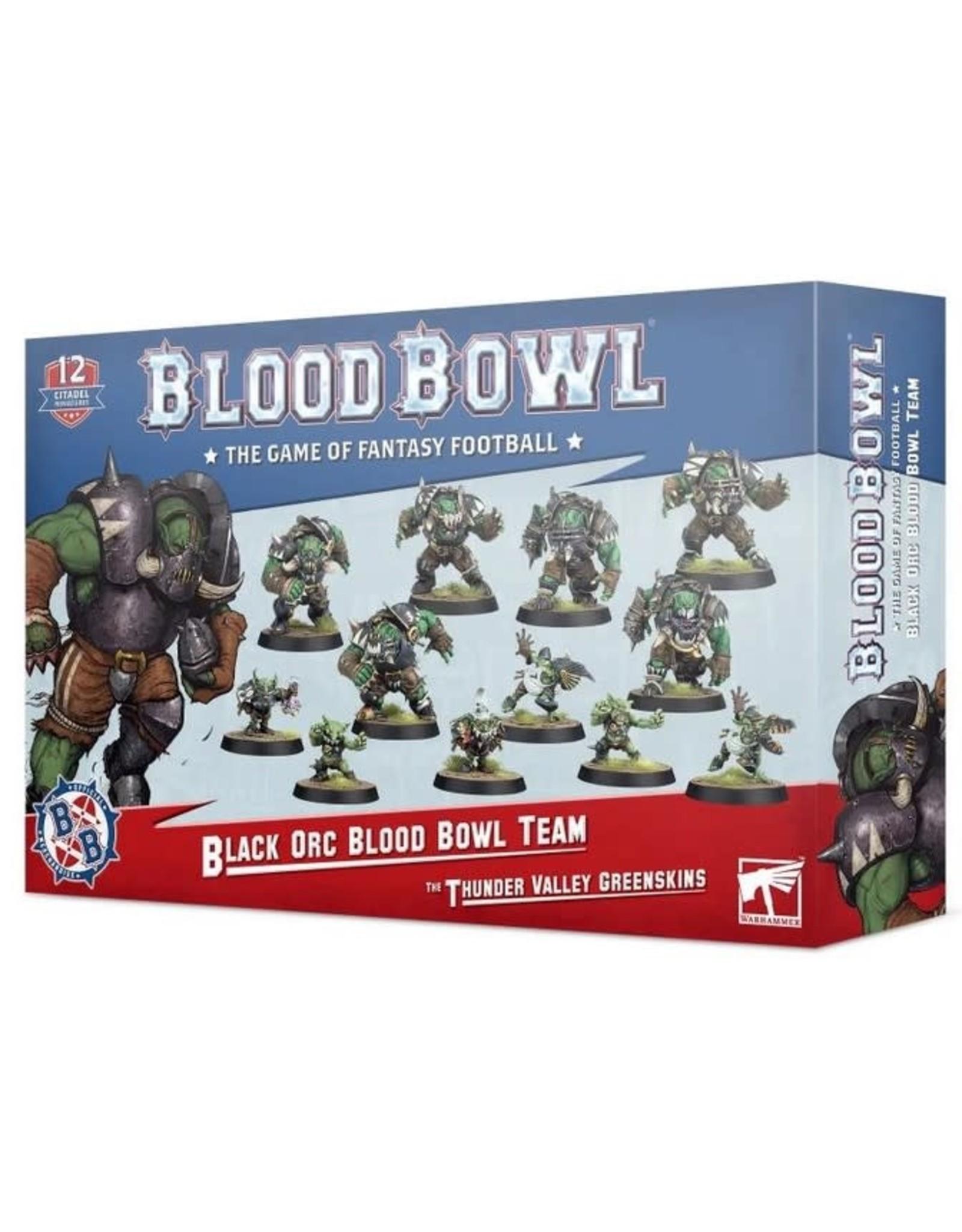 Warhammer Blood Bowl Team - The Thunder Valley Greenskins