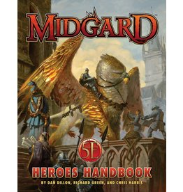 Kobold Press Midgard: Heroes Handbook for 5E