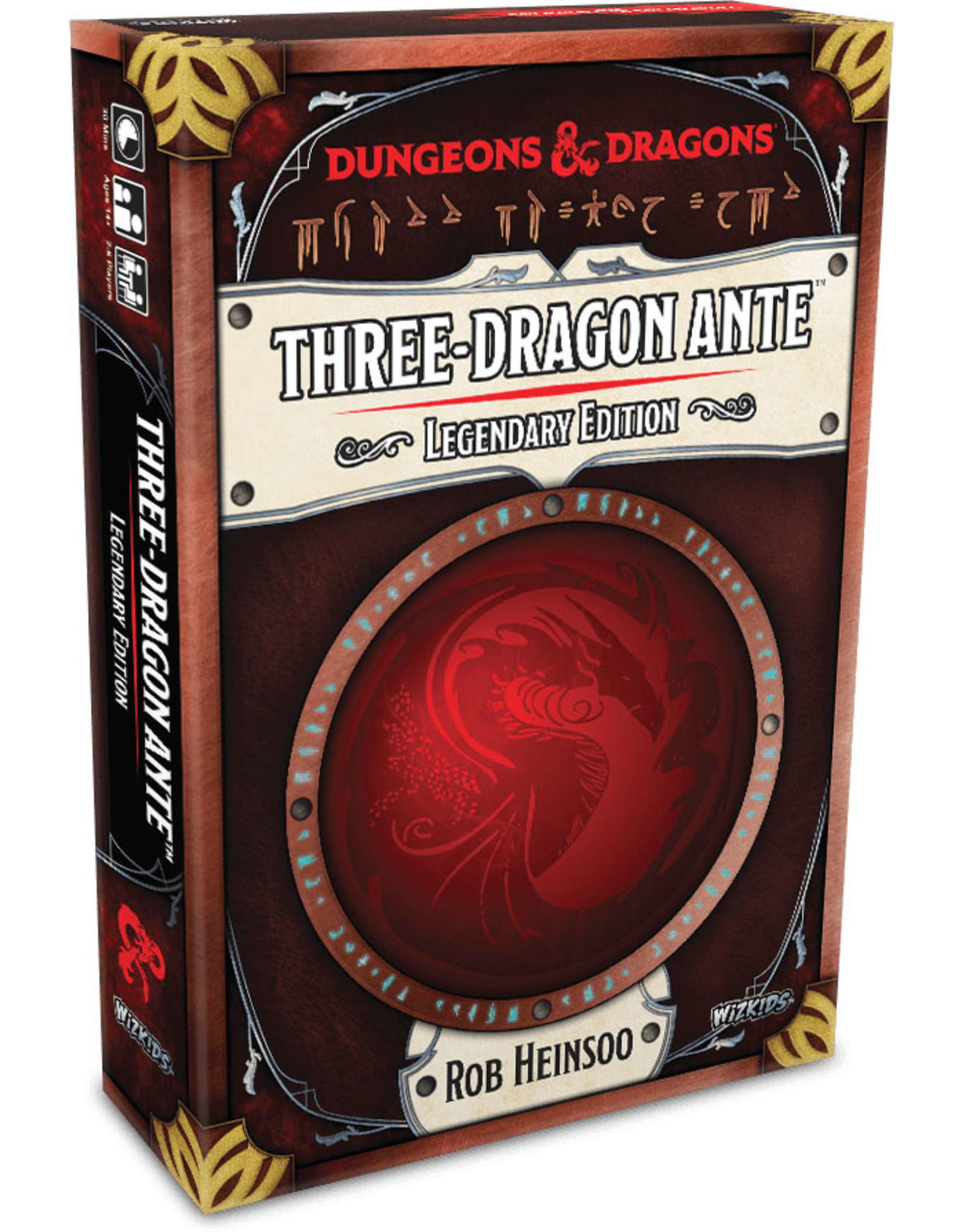 Wizards of the Coast Dungeons and Dragons RPG: Three-Dragon Ante - Legendary Edition