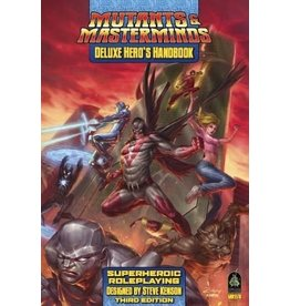 Green Ronin Publishing Mutants and Masterminds: Deluxe Heroes Handbook