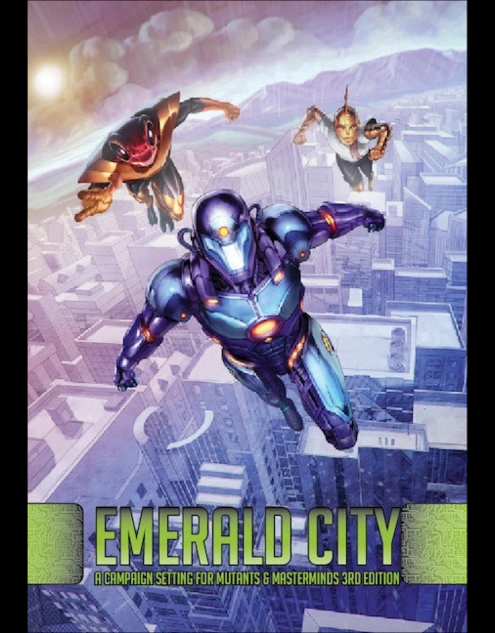 Green Ronin Publishing Mutants and Masterminds: Emerald City