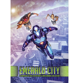 Green Ronin Publishing Mutants and Masterminds: Emerald City