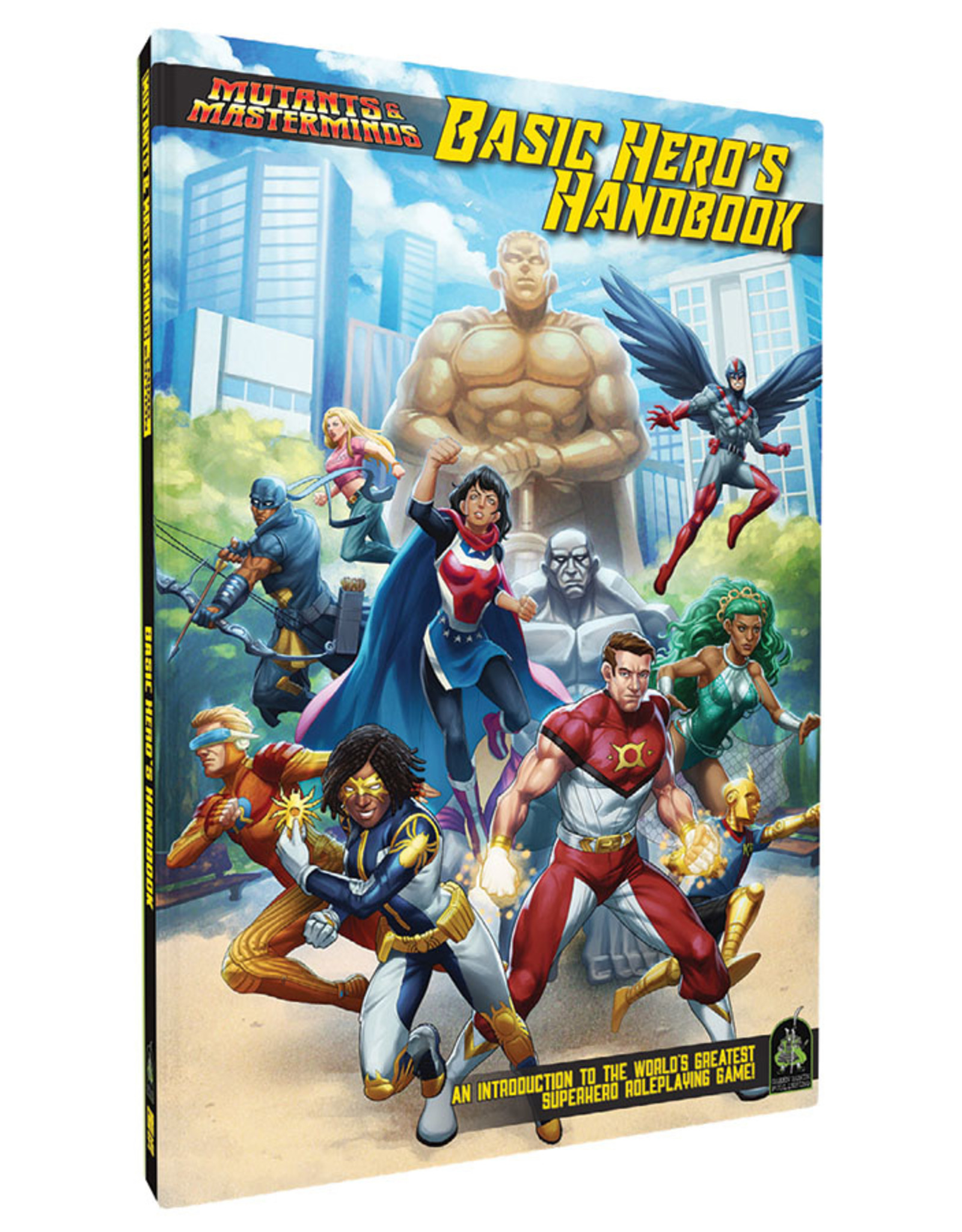 Green Ronin Publishing Mutants and Masterminds: Basic Hero's Handbook