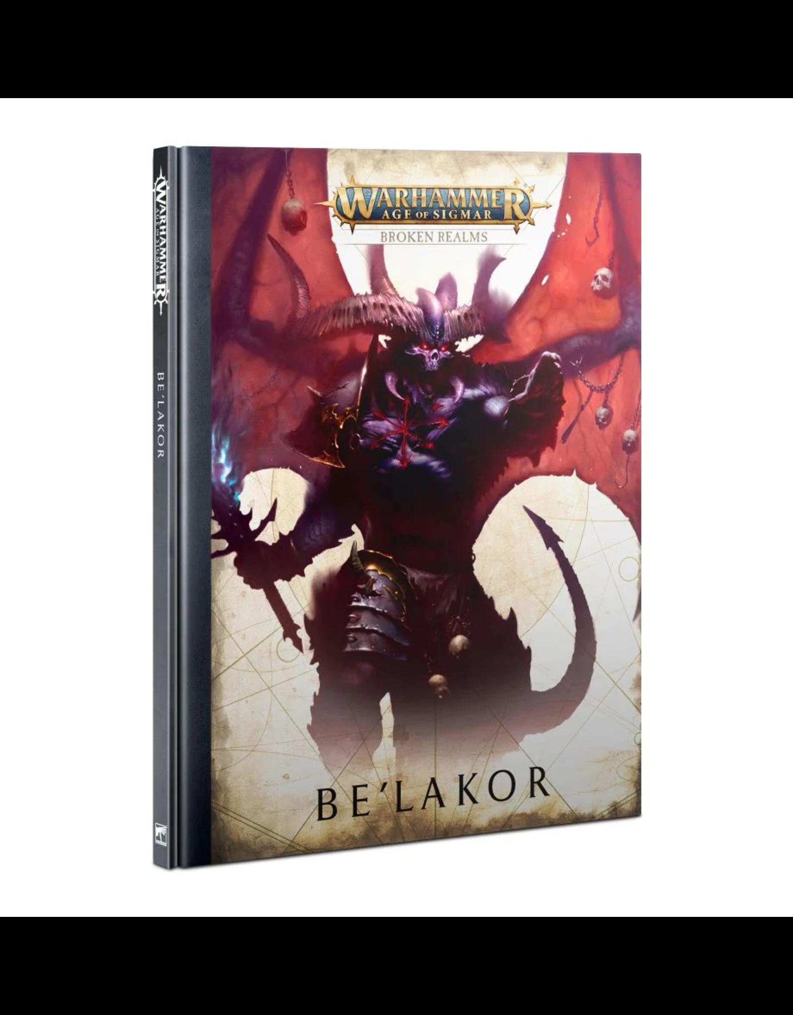 Games Workshop WHAoS Broken Realms: Be'lakor