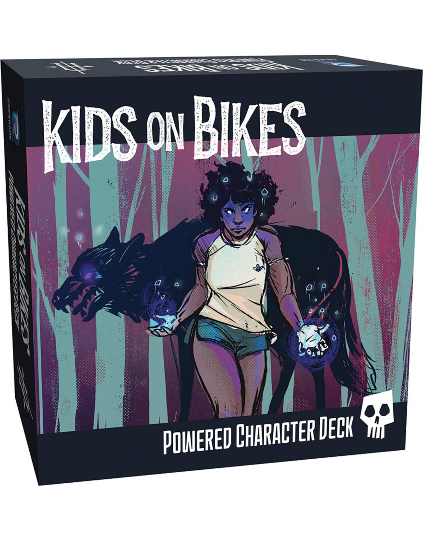 Renegade Game Studios Kids on Bikes: Powered Character Deck