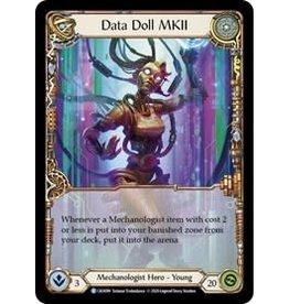 Legend Story Studios Flesh and Blood Single : Data Doll MKII Crucible of War Rainbow Foil