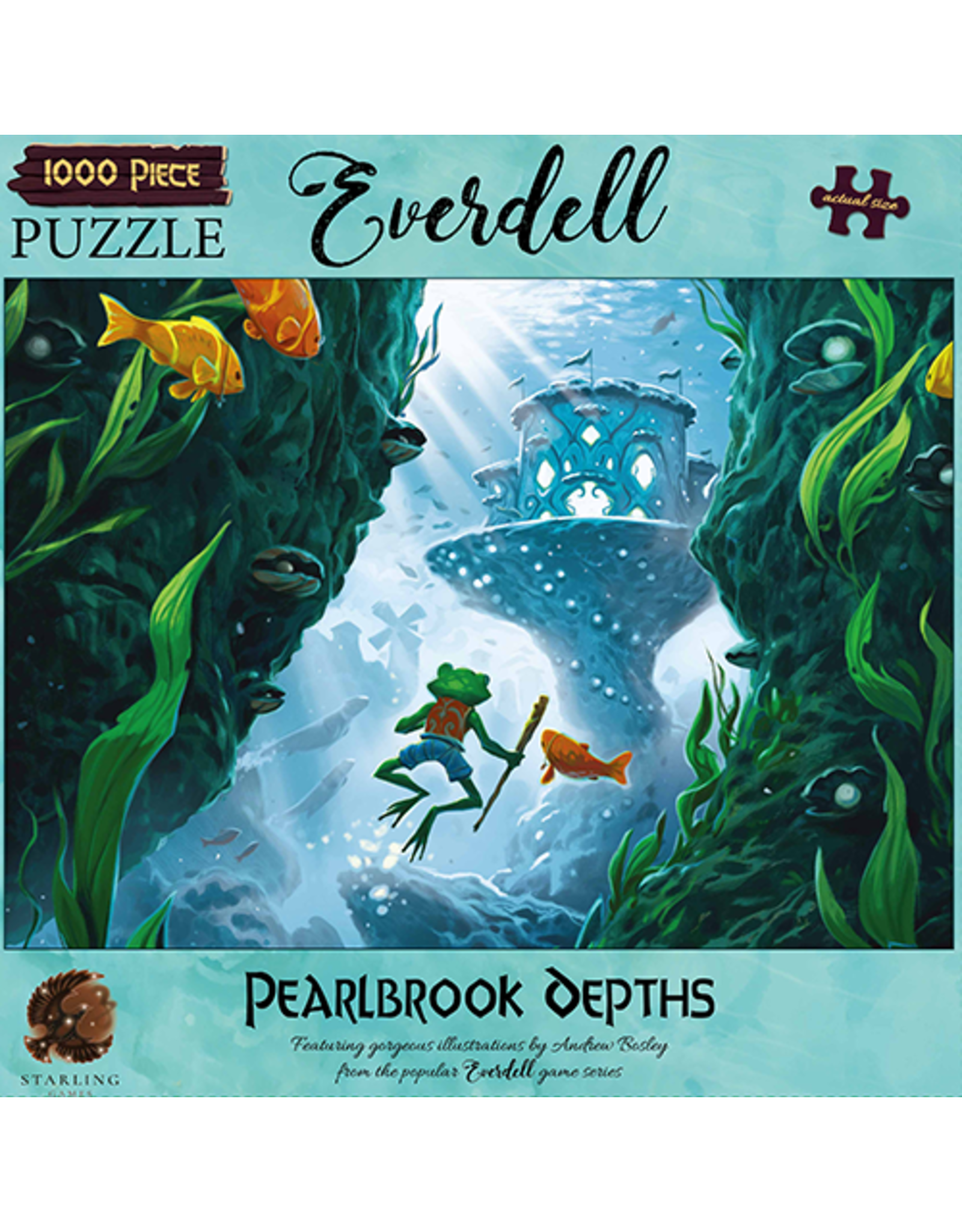 Tabletop Tycoon Everdell: Puzzle Pearlbrook Depths