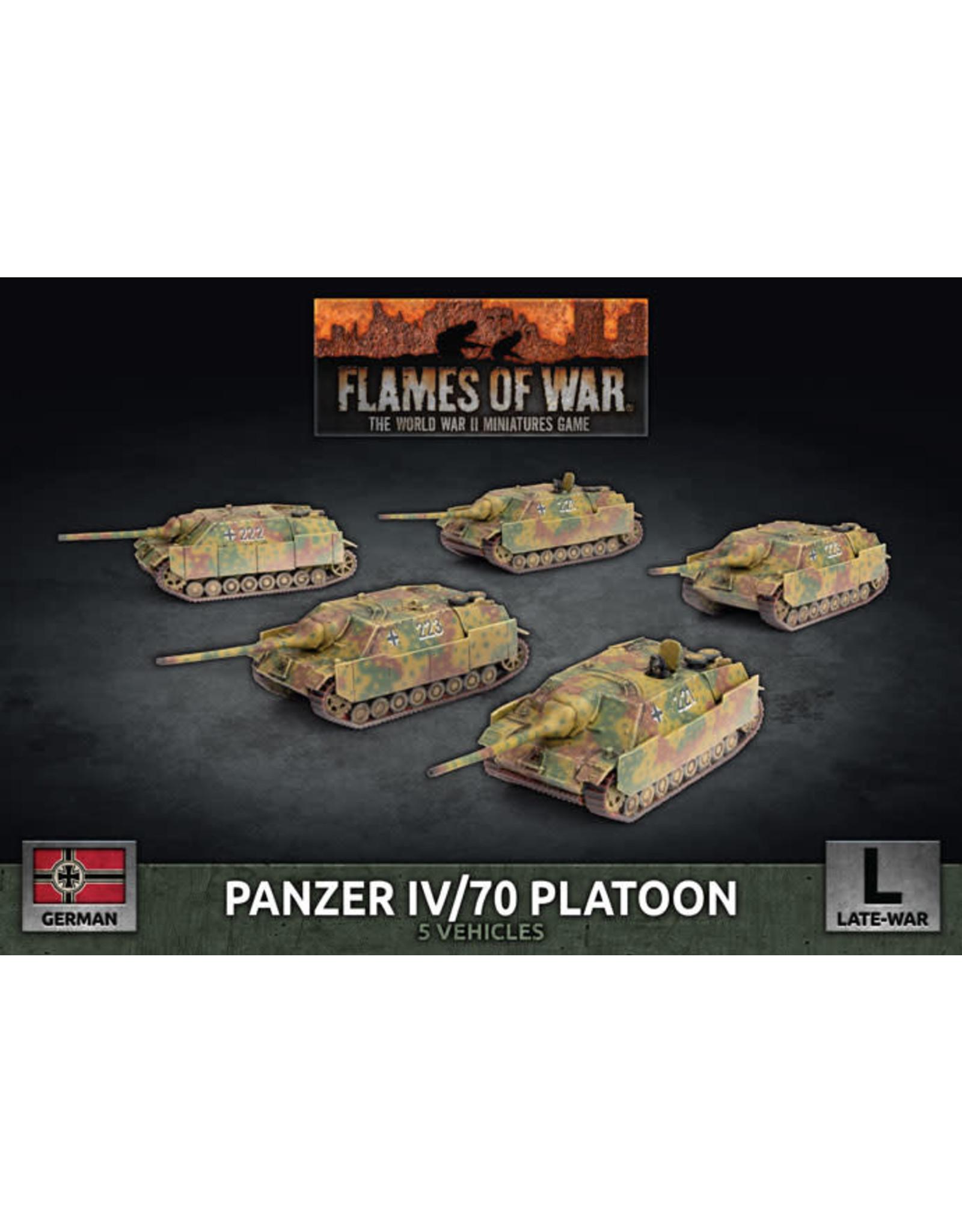 Battlefront Miniatures Panzer IV/70 Platoon
