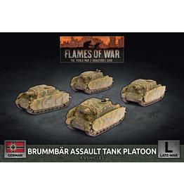 Battlefront Miniatures Brummbar Assault Tank Platoon