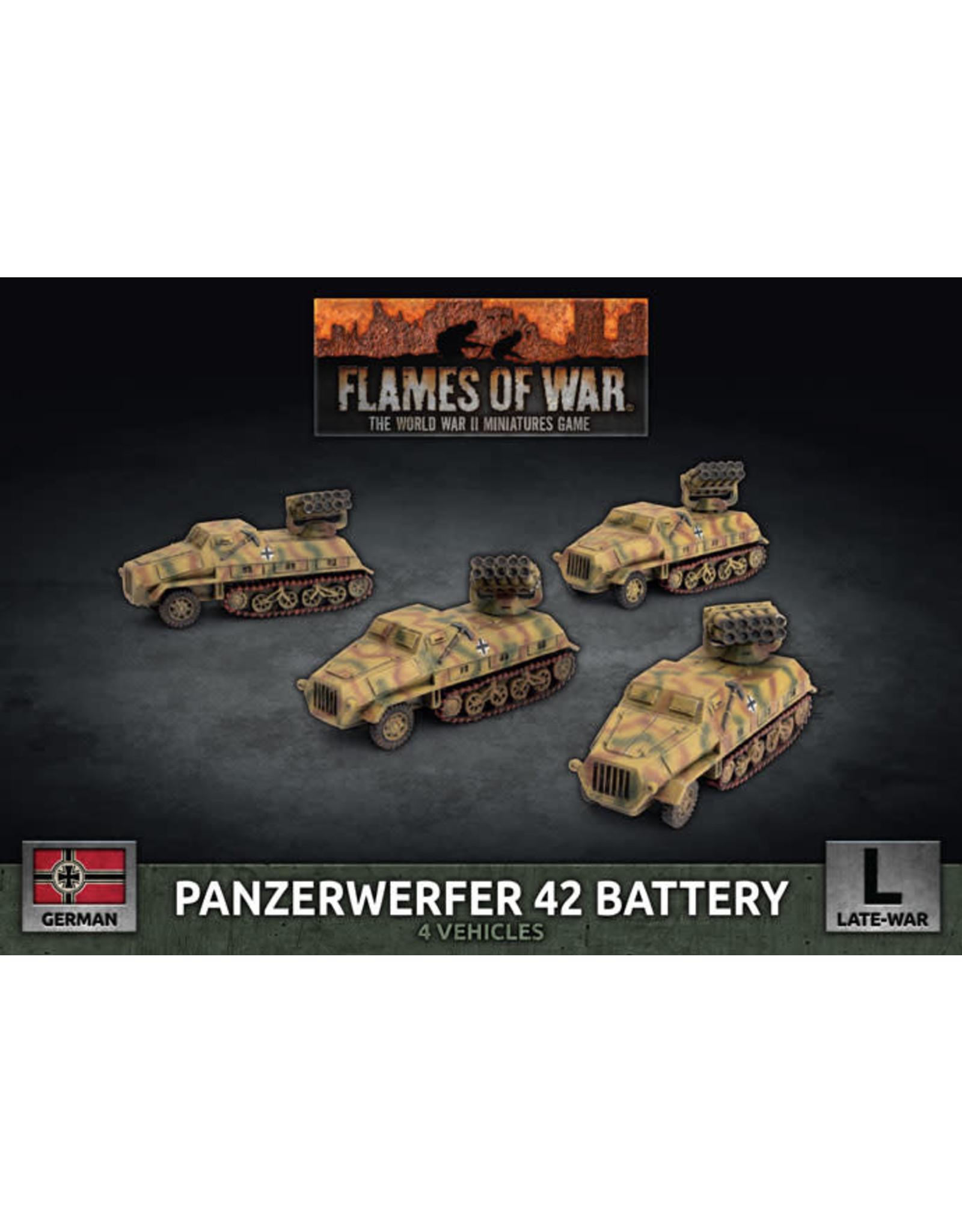 Battlefront Miniatures Panzerwerfer 42 Battery