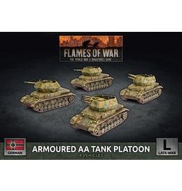 Battlefront Miniatures Armoured AA Tank Platoon