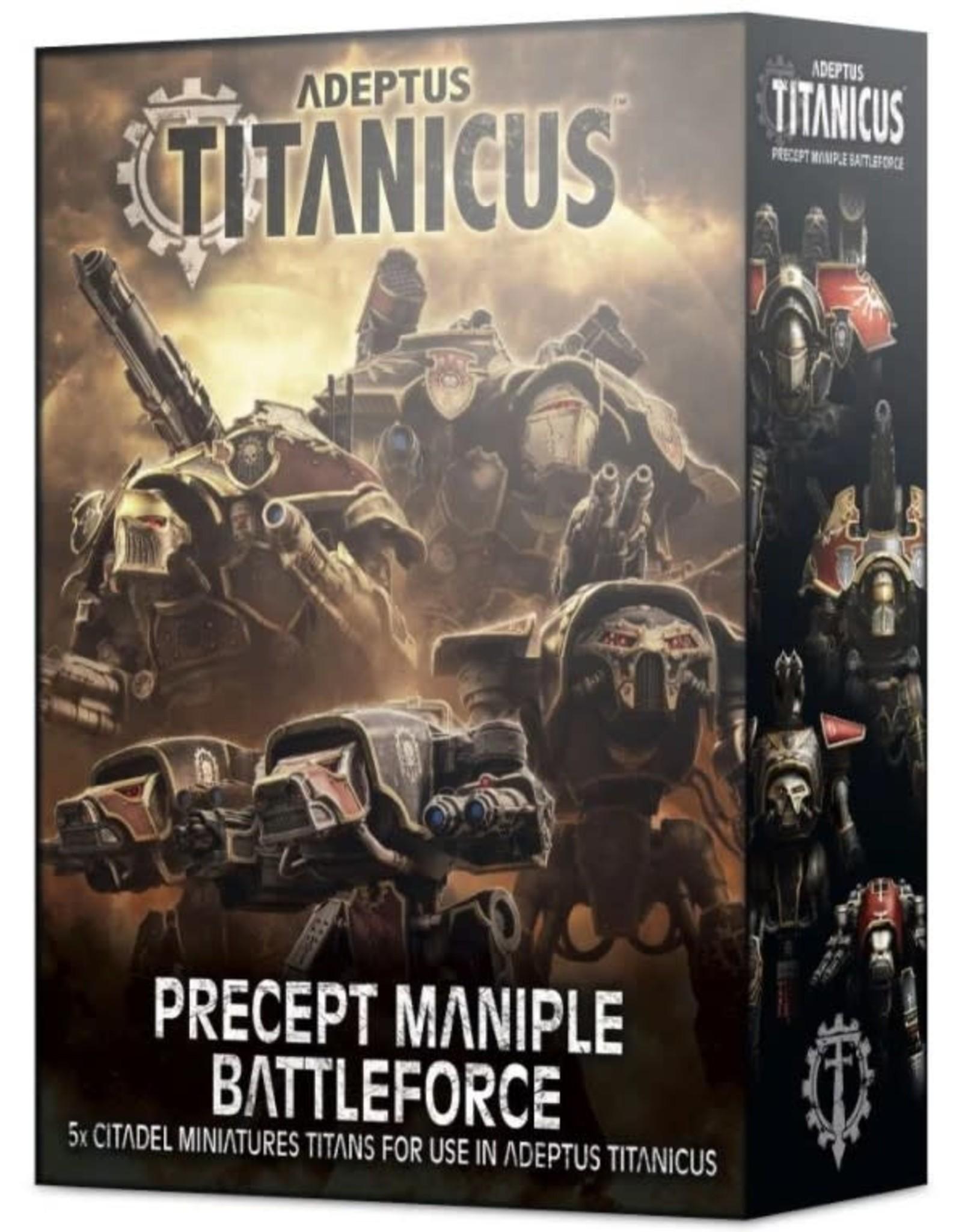 Games Workshop Adeptus Titanicus: Precept Maniple Battleforce