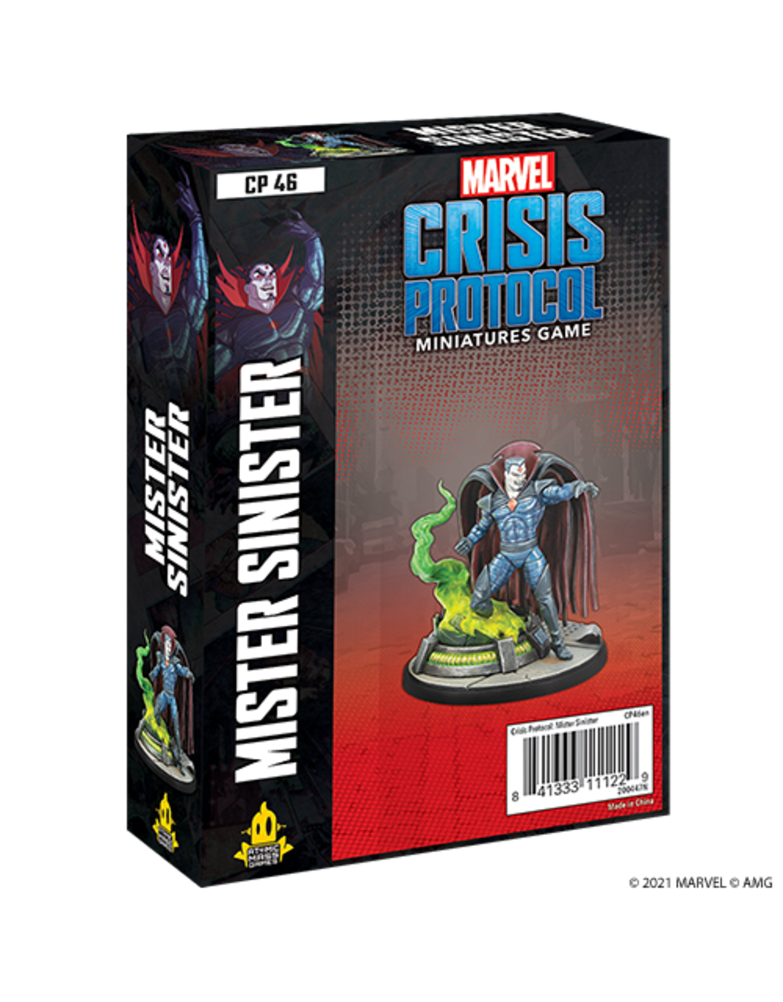 Atomic Mass Games Marvel Crisis Protocol - Mister Sinister