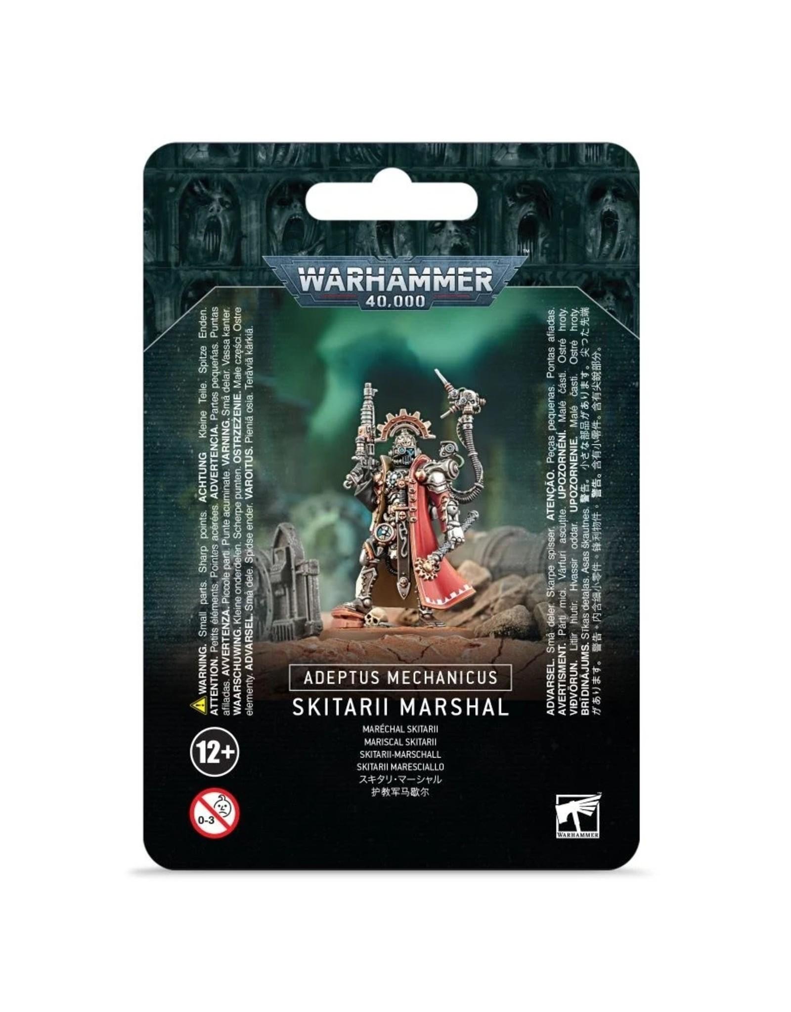 Games Workshop WH40K: Skitarii Marshal