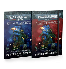 Games Workshop WH40k Chapter Approved: Grand Tournament 2021 Mission Pack and Munitorum Field Manual 2021 MkII