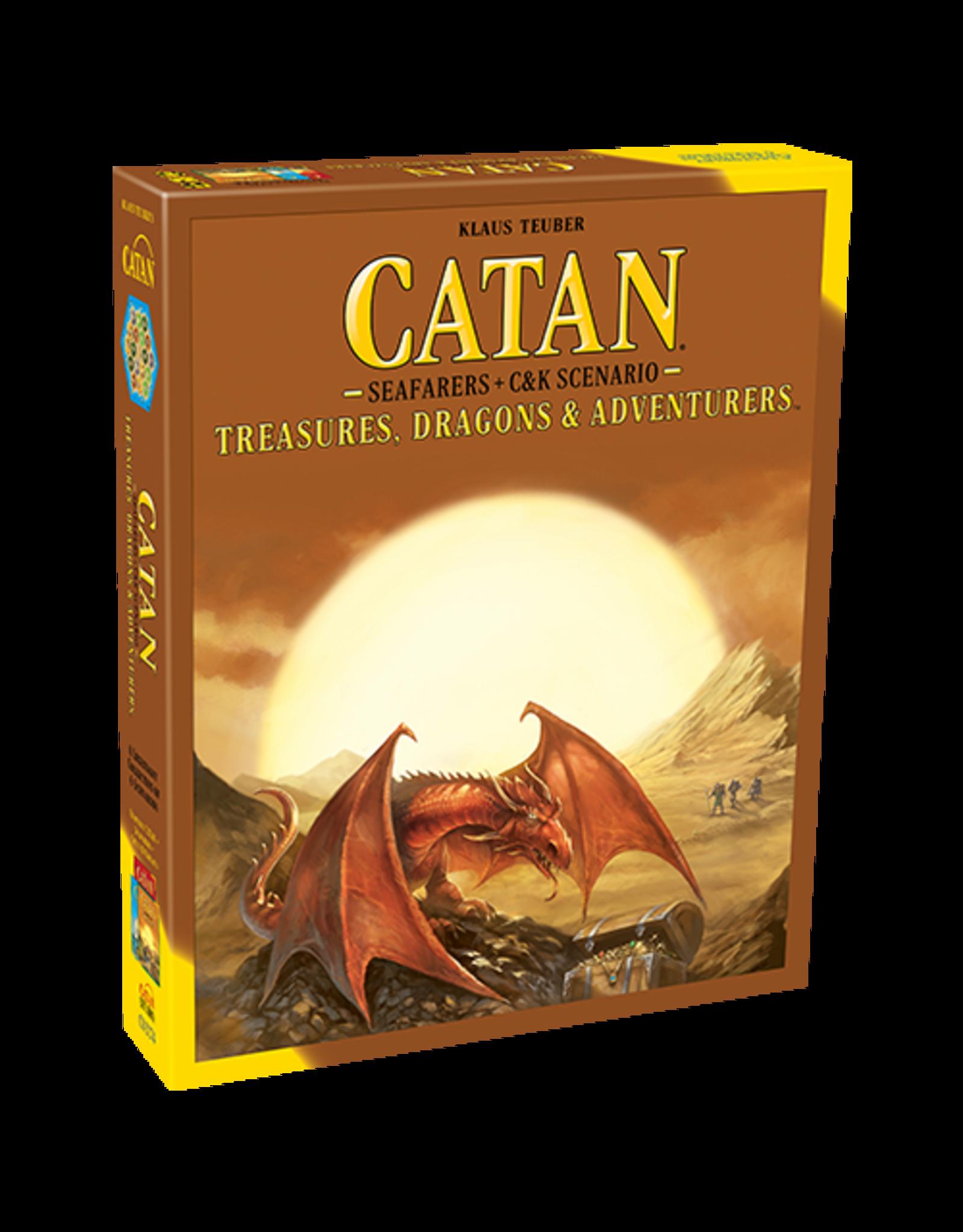 Catan Studio Catan Treasures, Dragons, & Adventurers