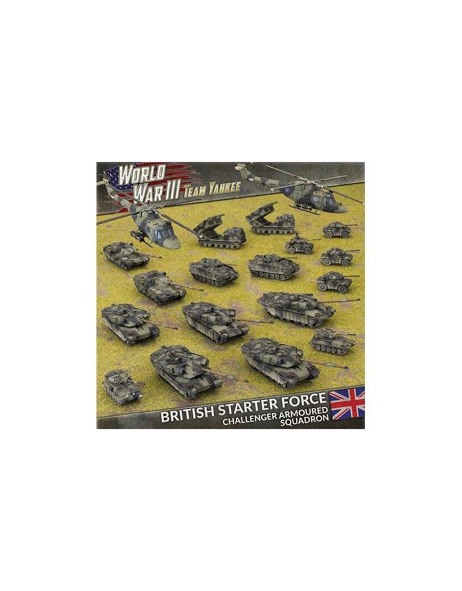 Team Yankee Team Yankee: British Starter Force - Challenger Armoured Squadron